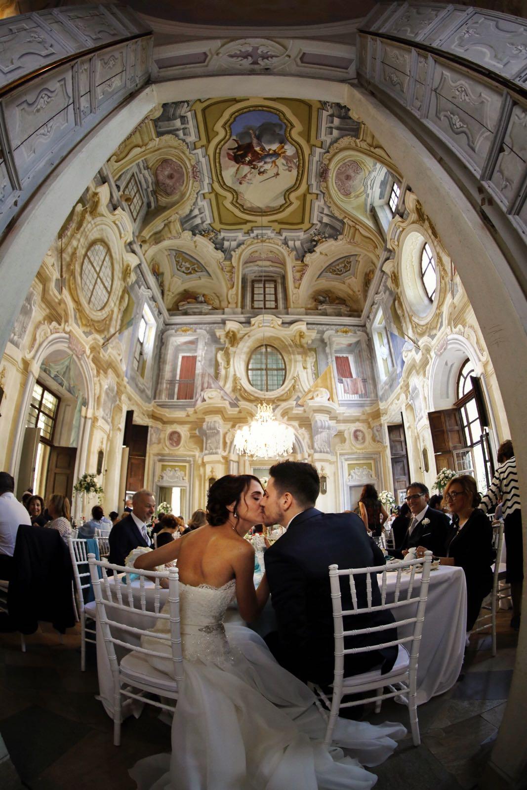 Salone aulico castello Cumiana