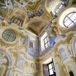 Altezza salone aulico Castello Canalis