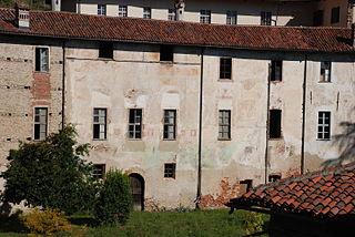 Zona ponente castello Cumiana