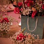 Composizione fiori centrotavola