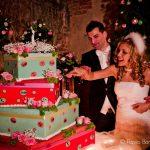 Sposi momento taglio torta