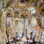 Ricevimento Salone Aulico dall'alto Castello Canalis