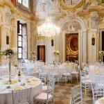 Salone Aulico allestito Castello Canalis